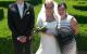 Šťastní novomanželé a Veronika