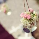 květinová dekorace obřad