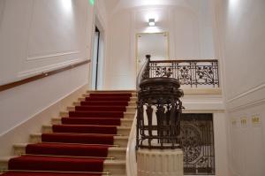 příchozí schodiště