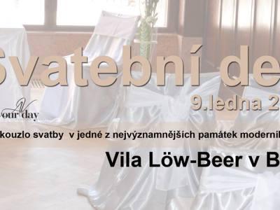 Pozvánka na Svatební den ve Vile Low Beer